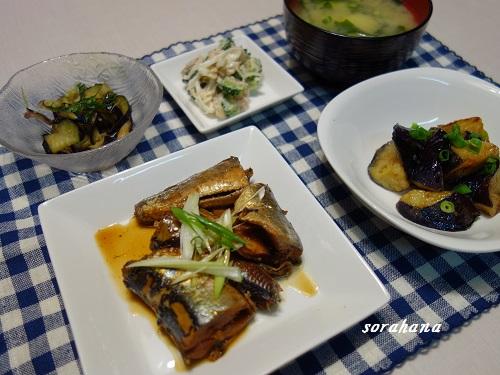 7月24日 イワシの生姜煮
