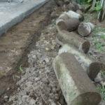 庭造りDIY② 防草シートを敷くための準備が無駄になってしまった件