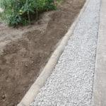 庭造りDIY③ 軒下の雨落ちに防草シートと砂利を敷いた費用と時間