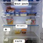 冷蔵庫収納 常備菜を作らない我が家の冷蔵庫内の決まり事