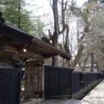 秋田角館の桜はこれから開花 お勧めしたい武家屋敷